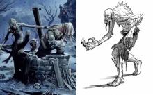 """""""ผีกูล"""" ผู้กัดแทะซากศพ (Ghoul)"""