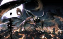 ปีศาจจิ้งจอกเก้าหาง ( Nine Tail Fox 九尾の妖狐, คีวบิโนะโยโกะ)